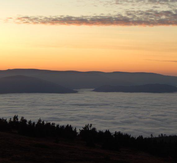 Sudety: Śnieżnik i spektakularny wschód słońca